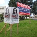 AECT election hoarding