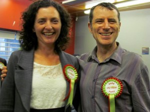 Christopher Dempsey and Pippa Coom