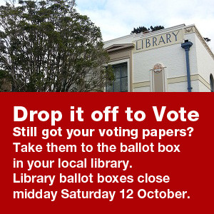 Drop it off to vote