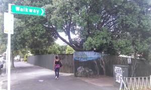 Walkway to Arthur Street