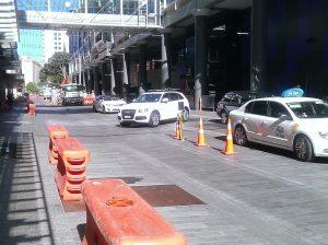 Federal Street upgrade progress April 2014