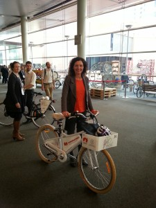 Pippa Coom at Velo-City 2014