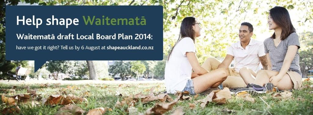 Waitemata Local Board draft Plan