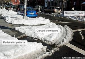 Sneakdown with snow Streetfilms