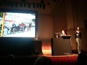 Emma McInnes Pecha Kucha presentation