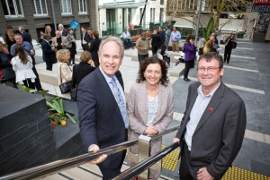 Khartoum Place reopening with Len Brown and Shale Chambers