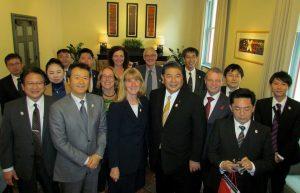 Shinagawa Peace Delegation to Auckland