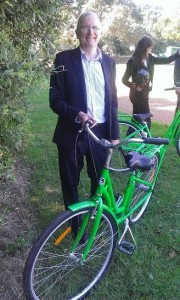 Paul McArdle Founder Bikes in School