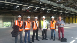 Tour of the refurbished Lysaght building, Wynyard Quarter hosted by Waterfront Auckland (new home of GridAKL)
