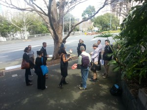 Aotea Quarter consultation walking tour