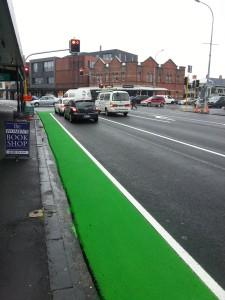 Ponsonby Road feeder lane