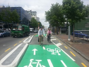 Nelson St cycleway