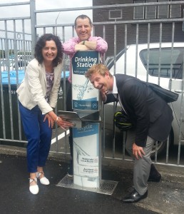 Waitemata Local Board funded drinking station on Nelson St