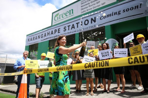 CRL celebration at the Greens Office
