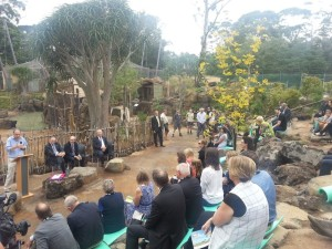 Zoo opening with the PM March 2016