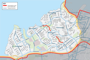 inner west auckland cycle network