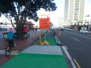 Quay Street cycleway