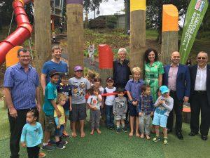 Western Park Playground opening
