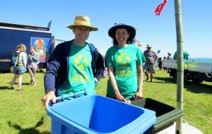 Waitangi Day festival zero waste