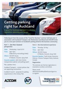 Parking seminar