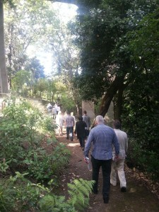 Board member tour symonds st cemetary