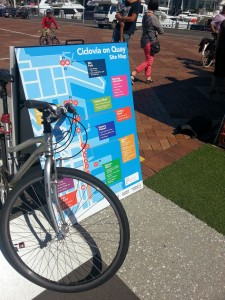 Ciclovia on Quay