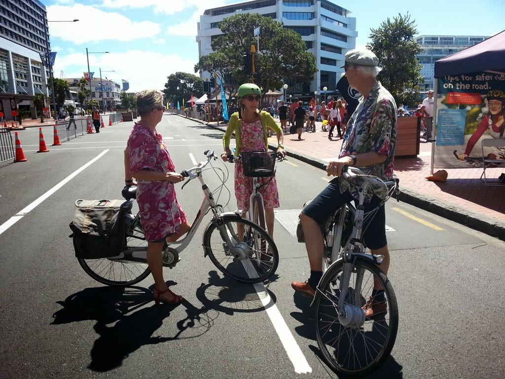 Ciclovía on Quay reclaims Auckland's streets