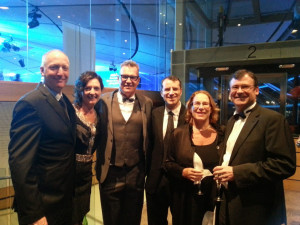 John Kirwan at Newmarket business excellence awards April 2014