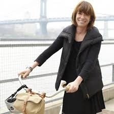 Frocks on Bikes bike ride with Janette Sadik-Khan