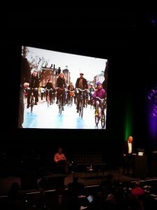 Mayor of Copenhagen at Velo-City 2014