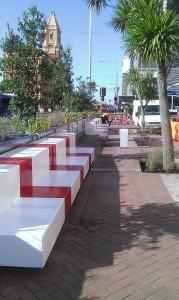 Pocket park on Quay Street