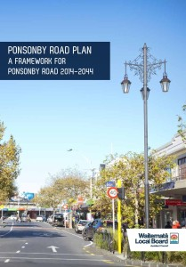 Ponsonby Road plan cover
