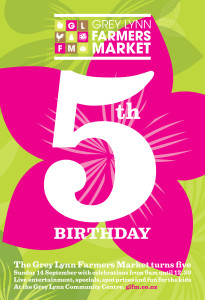 Fifth birthday poster