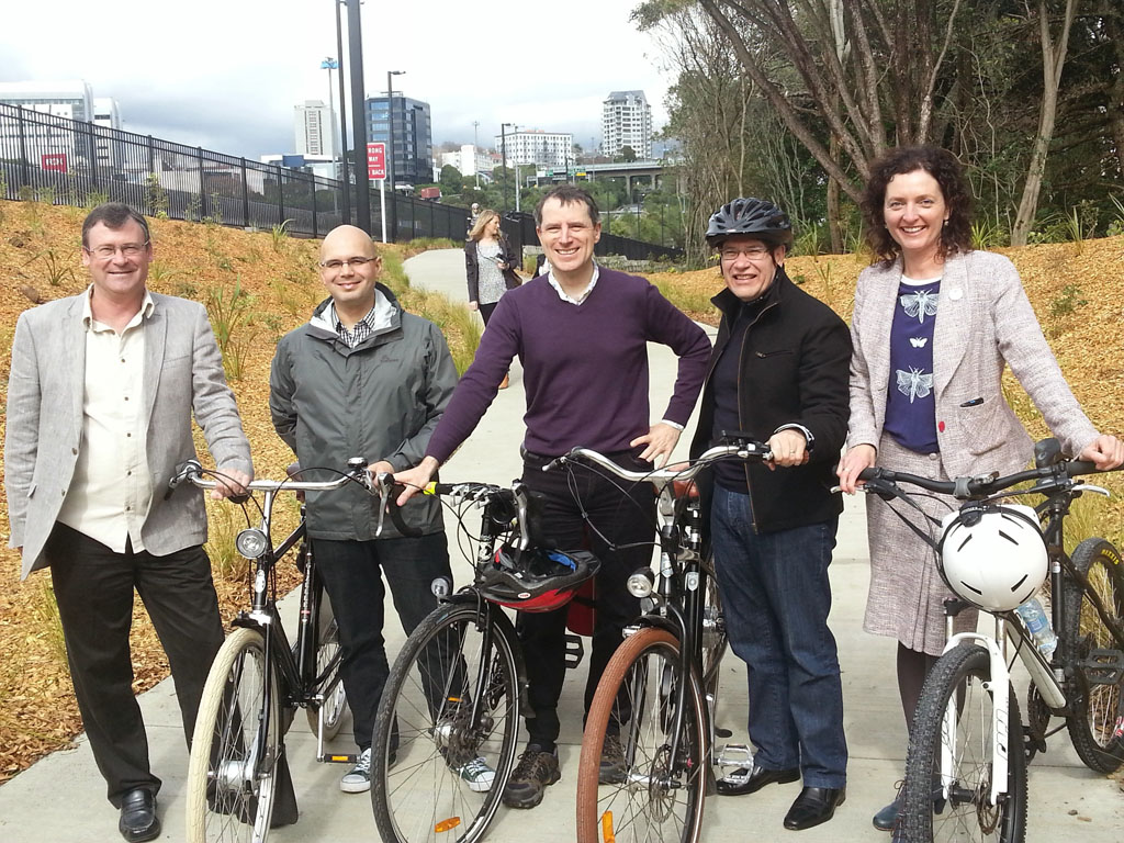 Grafton Gully Cycleway opening