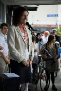 Speaking at Bike to the Future