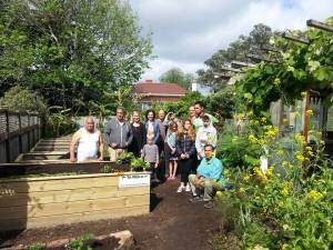 Te Maara Community Garden blessing