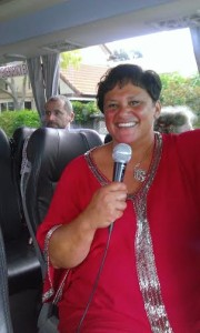 Richelle tour guide Orakei Trust Board
