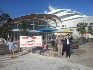 Save our harbour rally