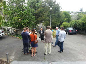 Street meeting Waima St