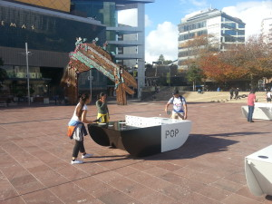 Pop ping pong Aotea Square