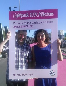 Pippa Coom and Christopher Dempsey Lightpath