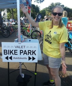valet bike parking Lantern Festival