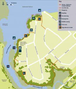 Weona Westmere Walkway map