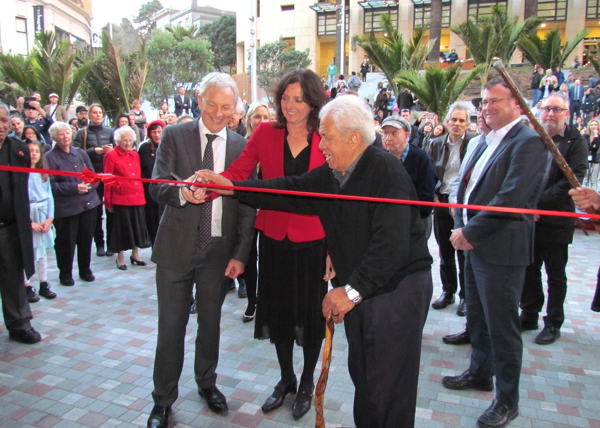 Opening of Ellen Melville Centre and Freyberg Place