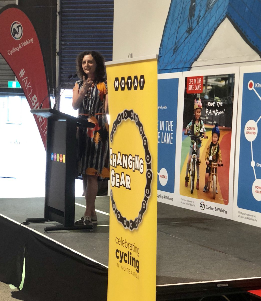 Opening Changing Gear exhibition celebrating cycling Aotearoa